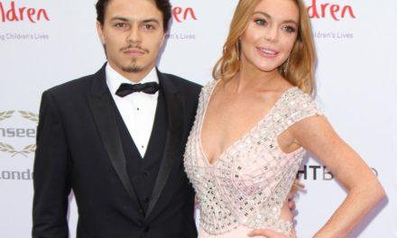 Lindsay Lohan'dan Egor Tarabasov'a mesaj