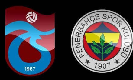 Fenerbahçe Trabzonspor rekabetinde son tablo