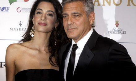George ve Amal Clooney terörden kaçıyor
