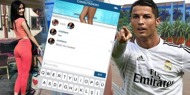 Ronaldo ve Cansu Taşkın her gün haberleşiyor!