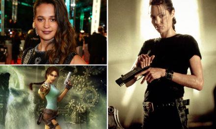 Yeni Lara Croft Alicia Vikander oldu