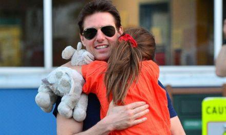 Tom Cruise'un kızının içine şeytan kaçmış!