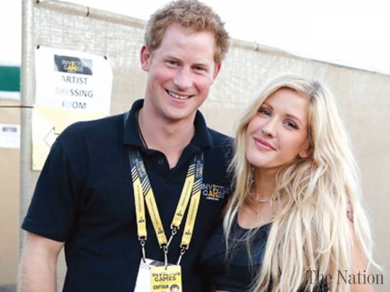 Prens Harry ve Ellie Goulding birlikte mi?