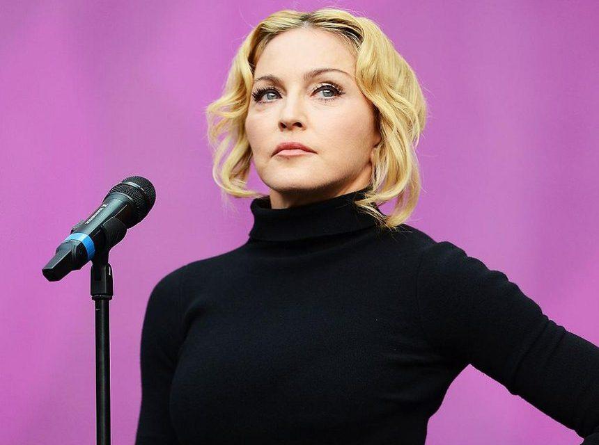 Madonna hakkında çekilecek filme ateş püskürdü