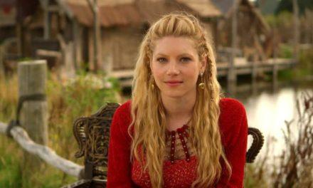 'Vikingler'in savaşçı güzeli Türkiye'de