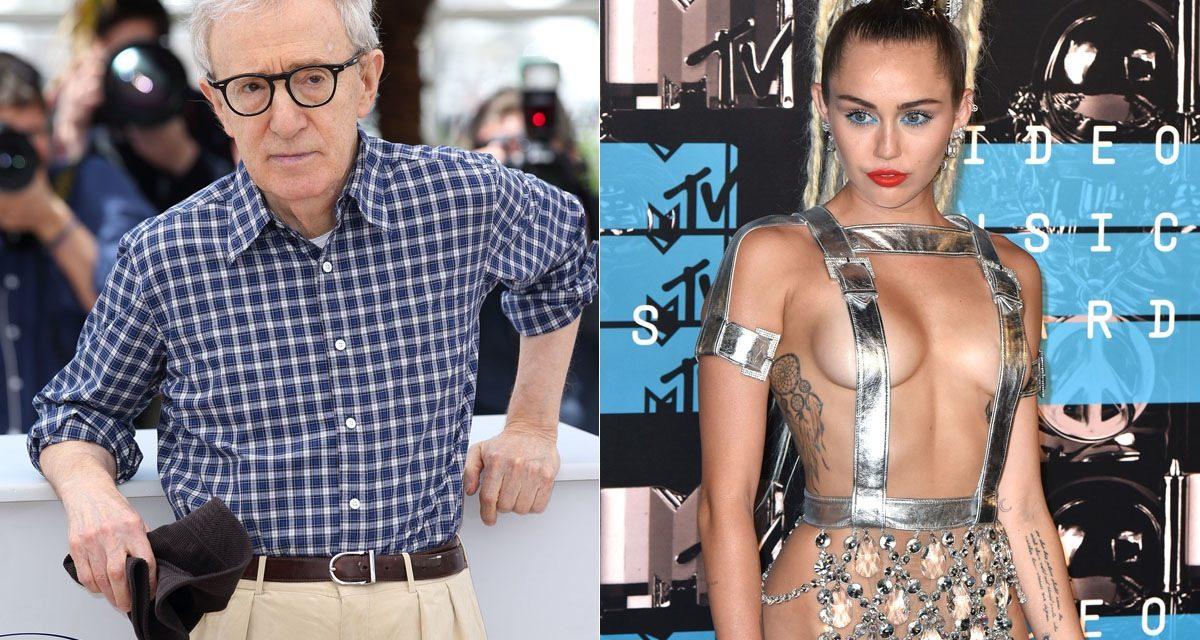 Miley Cyrus ve Woody Allen aynı dizide