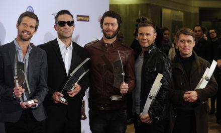 Robbie Williams Take That'e geri döndü