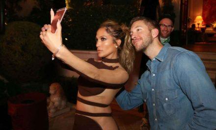 Jennifer Lopez ve Calvin Harris birlikte