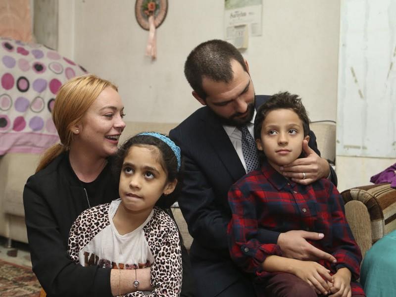 Lindsay Lohan'dan Trump'a Türkiye çağrısı