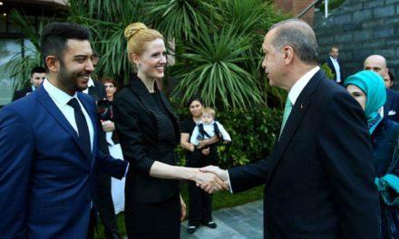 Erdoğan'dan Wilma Elles'e teşekkür