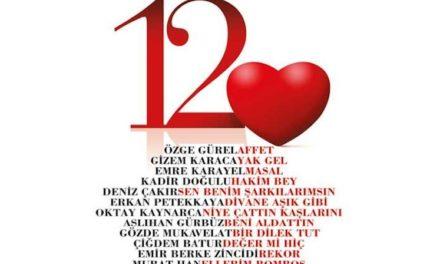 Dev oyuncular '12 Kalp'te buluştu