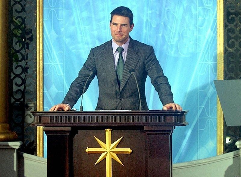 Tom Cruise sadece Scientology üyelerine…