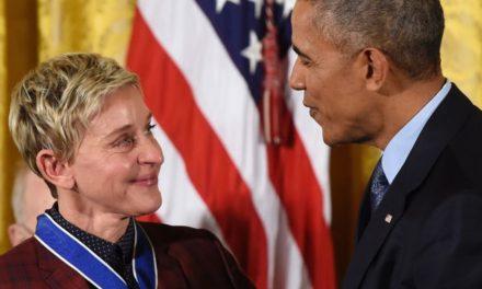 Obama'dan Ellen DeGeneres'e anlamlı ödül