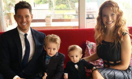 Michael Buble'ın minik oğlu kanser!