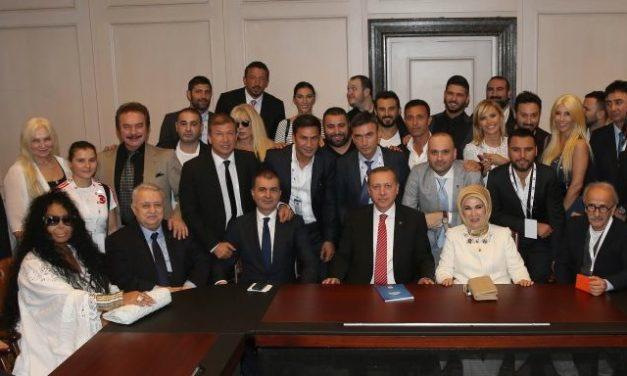 Cumhurbaşkanı Erdoğan'dan muhalif sanat açılımı