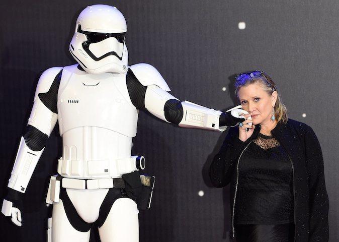 Carrie Fisher öleceğini biliyormuş!