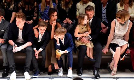 Beckham ailesi çocuklarının adını tescilletti