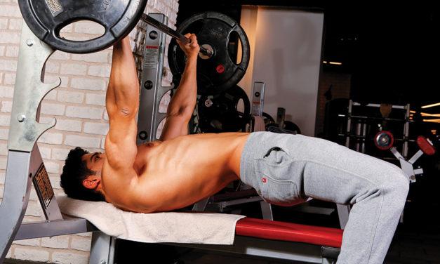 Üç günlük parçalı vücut geliştirme programı